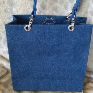 Un Jour Un Sac- Blue Denim Tote Bag